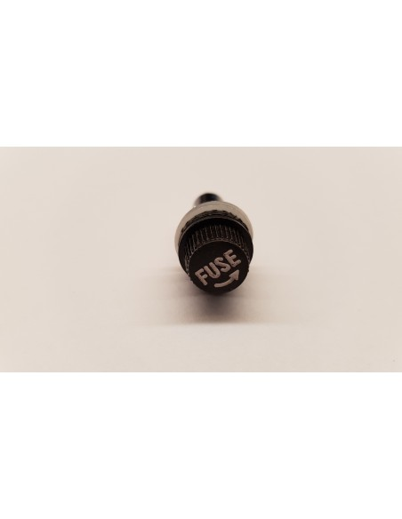 Fuse holder for 5 * 20 mm tube fuses for panel mounting.